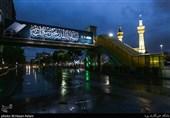 مشهدالرضا(ع) سوگوار رحلت پیامبر اسلام(ص) و سبط اکبرش / حرم رضوی یکپارچه سیاهپوش است