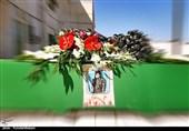 """پیکر شهید مدافع حرم """" غلامی"""" در کاشان تشییع شد + تصویر"""