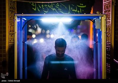 مراسم احیای شب بیست و یکم ماه رمضان در مسجد گیاهی