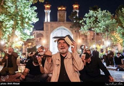 مراسم احیای شب بیست و یکم ماه رمضان در مدرسه عالی شهید مطهری