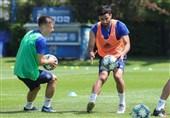 نخستین بازی غیررسمی فوتبال در کرواسی با مشارکت تیم صادق محرمی
