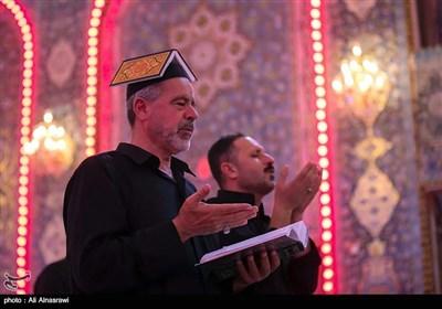 احیای شب بیست و یکم ماه رمضان در کربلا