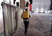ضدعفونی معابر و تولید ماسک توسط سپاه البرز در پی موج دوم کرونا/راهاندازی تختهای بیمارستانی در صورت نیاز+ فیلم