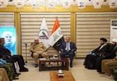 عراق|بازدید «الکاظمی» از مقر هیئت حشد شعبی