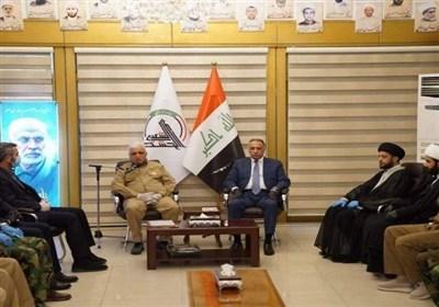 عراق بازدید «الکاظمی» از مقر هیئت حشد شعبی