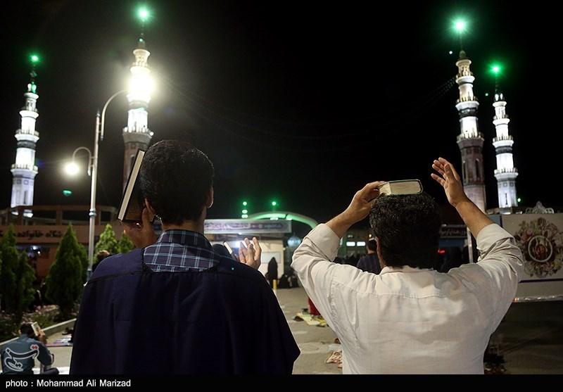 مراسم احیای شب بیست و سوم ماه مبارک رمضان در جوار مسجد مقدس جمکران