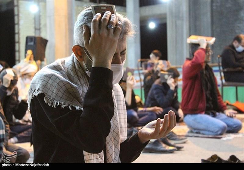 برپایی مراسم احیای شب 23 ماه مبارک رمضان در کاشان به روایت تصویر