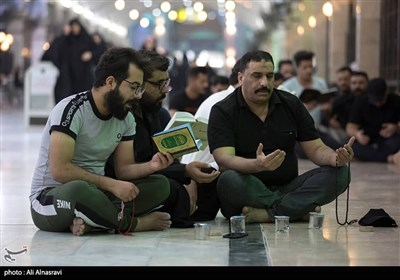 Iraqis Mark Last Night of Destiny in Holy City of Karbala