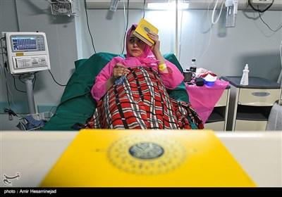 احیای شب بیست و سوم ماه رمضان در بیمارستان نکوئی - قم