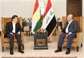 عراق  ماجرای پیام ویژه برهم صالح به مسعود بارزانی چیست؟