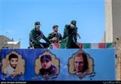 """آخرین زیارت فرمانده بیسر در کربلای ایران؛ شهید """"پاشاپور """" به دیدار سردار دلها رفت + فیلم"""