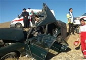 16 کشته و 104 مصدوم در حوادث جادهای 24 ساعت گذشته