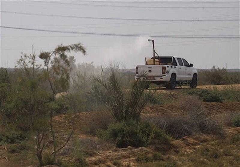 فائو برای مبارزه با ملخ صحرایی به ایران تجهیزات فرستاد
