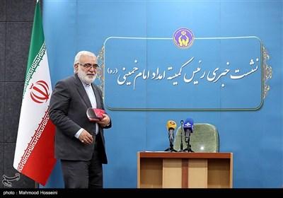 نشست خبری سیدمرتضی بختیاری رئیس کمیته امداد امام خمینی (ره)