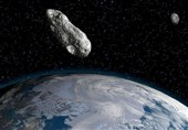 Giant Asteroid Approaching Earth's Orbit