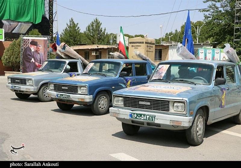 سیل زده , سیل , استان کرمان ,