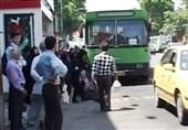 شلوغی اتوبوسهای درون شهری در روزهای کرونایی / کاهش 87درصدی درآمد اتوبوسرانی بیرجند