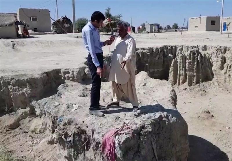 «گرگروک» مردم 300 روستای سیستان و بلوچستان را فراری داد/ اختصاص 103 میلیارد برای جلوگیری از فرسایش خندقی خاک