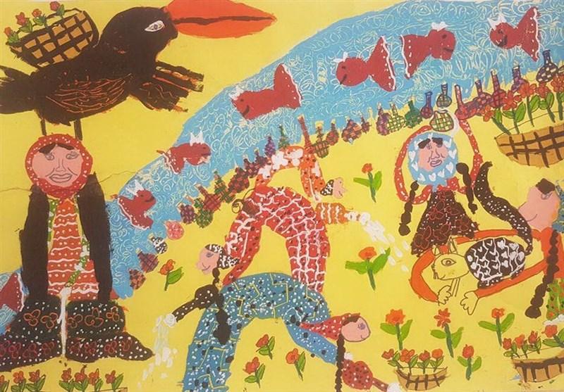 5 دیپلم افتخار مسابقه نقاشی رومانی سهم کودکان ایرانی شد