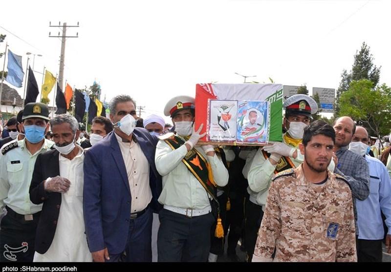 تشییع پیکر شهید مدافع حریم ایران در بام ایران; شهرکرد میزبان گل بهشتی شد