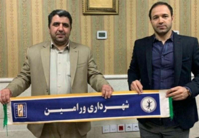 تابشنژاد سرمربی تیم والیبال شهرداری ورامین شد