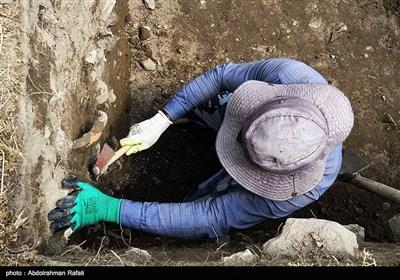 همچنین در حفاریهای صورت گرفته آثار بی نظیری مانندجام زرین و سیمین، لوحها، پایه ستون سنگی، کوزههای شکسته یافت شده که بیشتر آنها متعلق به دورههای باستانی ماد و هخامنشی است.