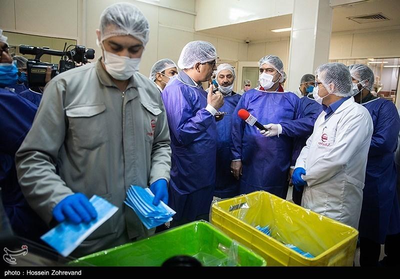 Iran Bans Export of Face Masks