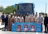 اعزام کارکنان منطقه سوم نبوت نداجا برای مراسم تشییع شهدای رمضان به زاهدان