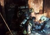 آتشسوزی در خانهای قدیمی با 17 اتاق اجارهای+ تصاویر