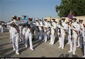تشییع پیکر پاک 5 شهید حادثه شناور کنارک نیروی دریایی ارتش در بوشهر به روایت تصویر