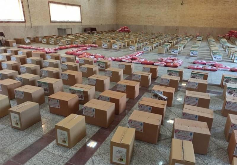24 هزار بسته معیشتی در شرق شیراز توزیع شد