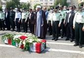 پیکر شهید میلاد خسروی تشییع شد/ماجرای پیشبینی شهادت یک هفته قبل + تصاویر