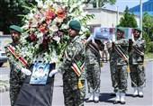 پیکر مطهر شهید ناوچه کنارک برای تشییع و تدفین در زادگاهش وارد آذربایجان شرقی شد
