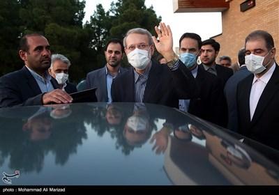 آیین تکریم علی لاریجانی در سه دوره نمایندگی مردم قم