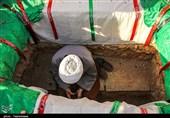 خراسان شمالی| آئین تشییع پیکر شهید محمد ابراهیم کاظمی به روایت تصاویر