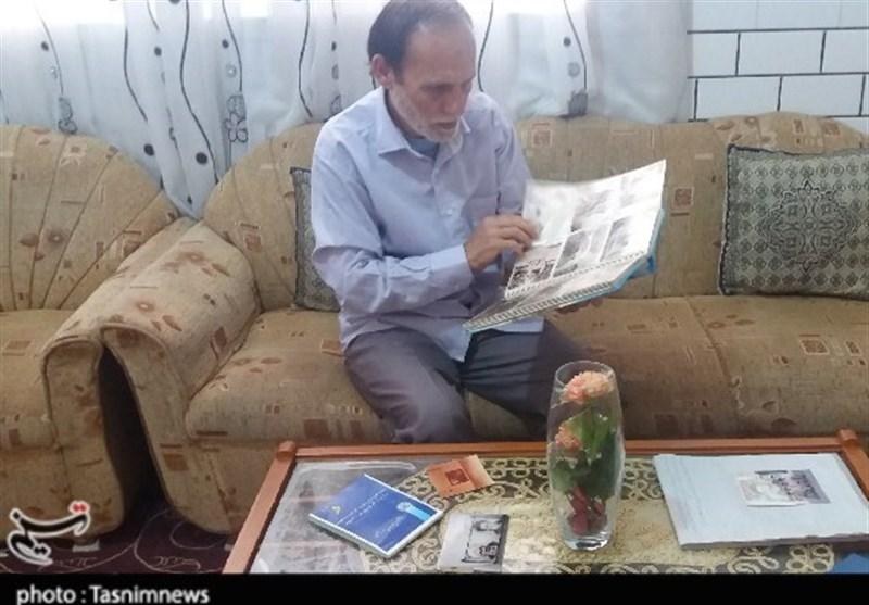 روایت خواندنی هنرمند دزفولی از ترسیم تصاویر چهار نسل شهدا +تصاویر
