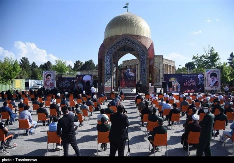 مراسم گرامیداشت دومین سالروز رحلت مجاهد نستوه آذربایجان به روایت تصویر