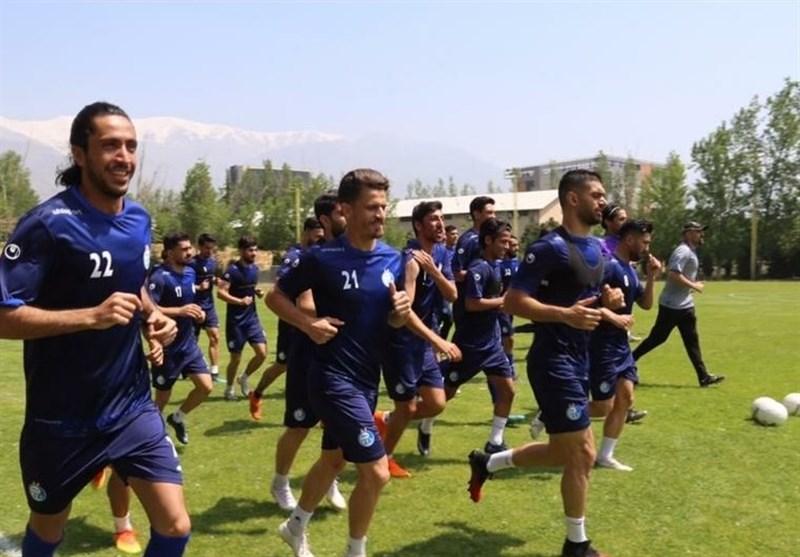 گزارش تمرین استقلال صحبتهای مجیدی با بازیکنان و جریمه مدافع آبیپوشان