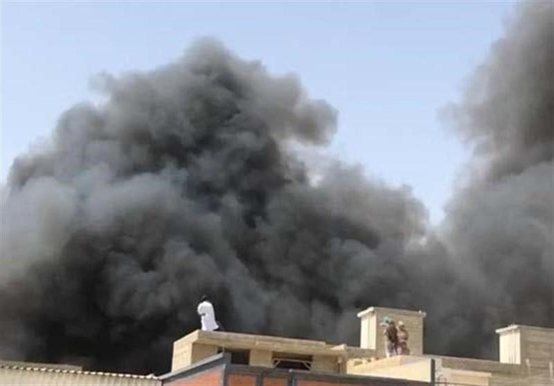 سقوط هواپیمای مسافربری پاکستانی در نزدیکی شهر کراچی 107 کشته برجای گذاشت+تصاویر