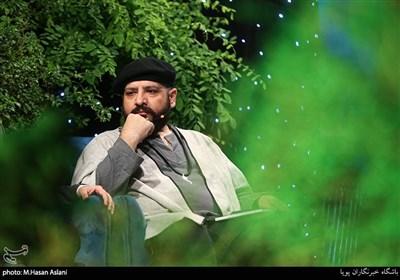 سیدحسین متولیان شاعر در برنامه اینترنتی «قدس آزاد»