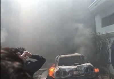 تخریب ۲۰ خانه در حادثه سقوط هواپیمای پاکستانی