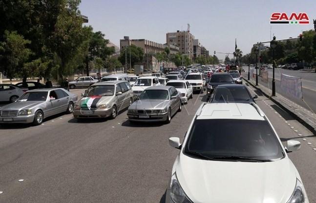 کشور سوریه , راهپیمایی روز قدس ,