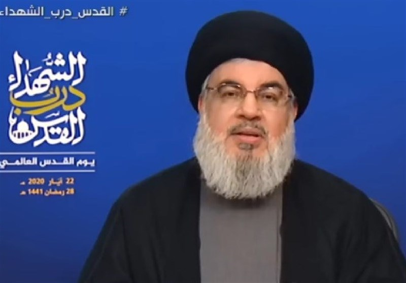 Resistance Only Way to Liberate Palestine: Nasrallah