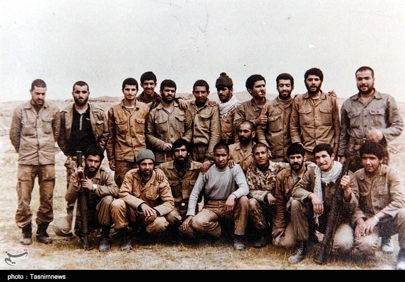 تصاویر یادگاری رزمندگان در جبهه های جنگ تحمیلی