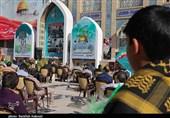 کرمان| بزرگداشت روز قدس در کنار مزار شهید سپهبد قاسم سلیمانی برگزار شد + تصاویر