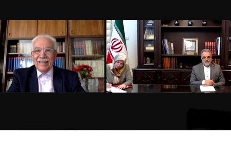گفتگوی سفیر ایران با رهبر حزب وطن ترکیه