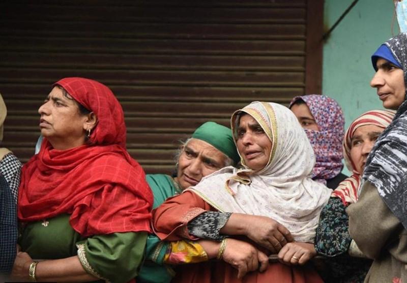 گزارش تصویری|عزای مادرانه کشمیریها در رثای فلسطین «تو میدانی که میدانم»