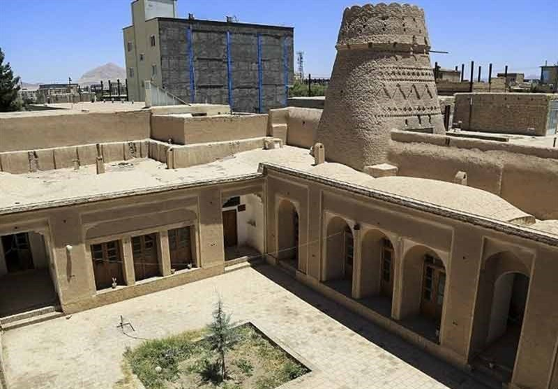 Bahador Malek Historic House in Iran's Kerman