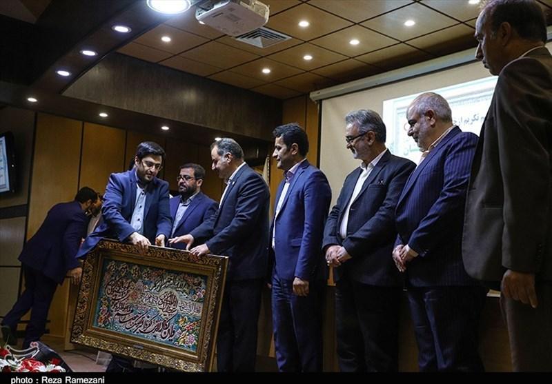 تودیع و معارفه رئیس جمعیت هلال احمر قم به روایت تصویر