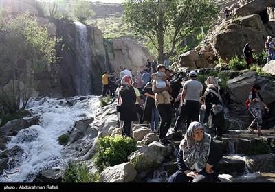 بازگشایی محوطه تاریخی گنجنامه همدان بعد از شیوع کرونا